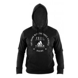 adidas Community Long Sleeve Boxing Hoodie | USFIGHTSTORE